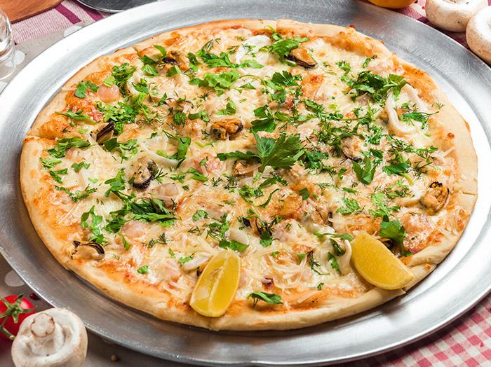 Заказать доставка Пицца с морепродуктами Морская Ирпень, Буча, Гостомель, Ворзель