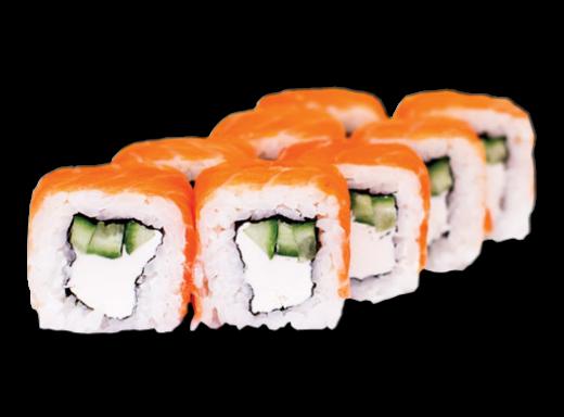 Заказать доставка суши ролл Филадельфия с копченым лососем Ирпень, Буча, Гостомель, Ворзель