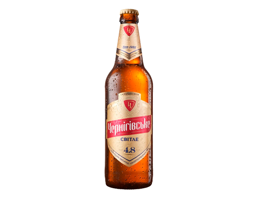 Пиво Черниговское светлое заказать доставка  Ирпень, Буча, Гостомель, Ворзель