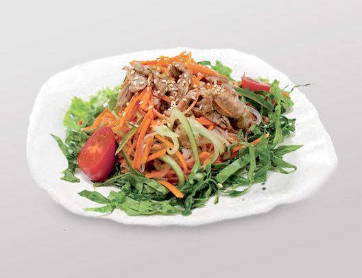 Заказать доставка салат Лян-Цай з лососем Ирпень, Буча, Гостомель, Ворзель