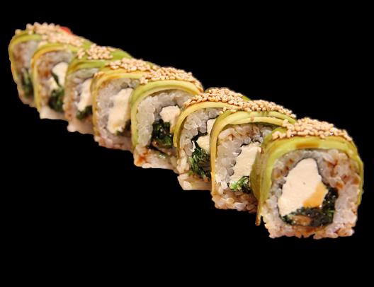 Заказать доставка суши ролл Зеленый дракон Ирпень, Буча, Гостомель, Ворзель