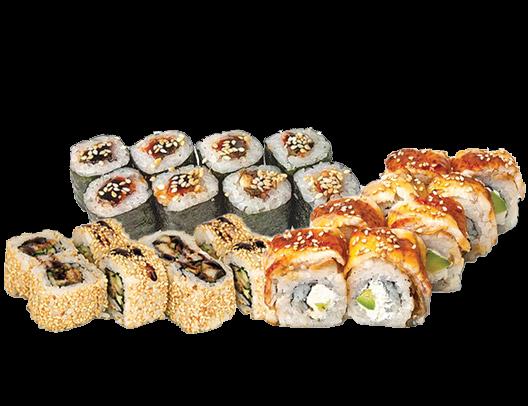 Заказать доставка суши сет с угрем Ирпень, Буча, Гостомель, Ворзель