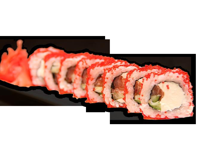 Заказать доставка суши ролл Филадельфия в икре Ирпень, Буча, Гостомель, Ворзел