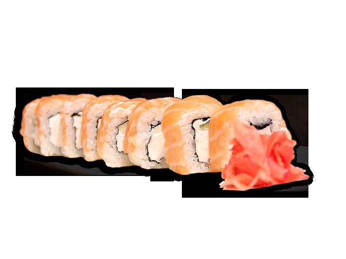 Заказать доставка суши ролл Филадельфия с лососем Ирпень, Буча, Гостомель, Ворзель