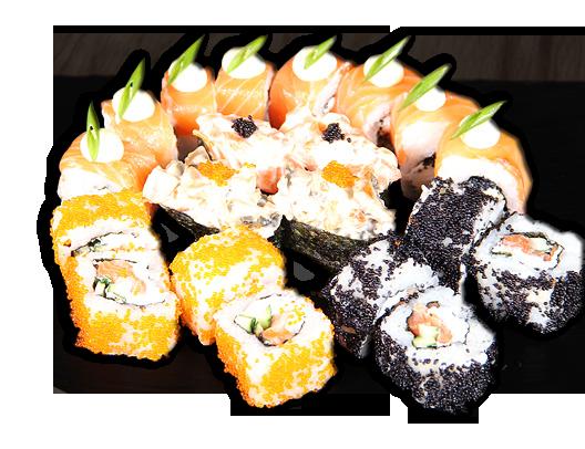 Заказать доставка суши сет Дивайн Ирпень, Буча, Гостомель, Ворзель