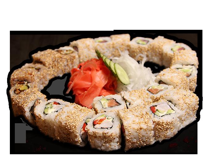 Заказать доставка суши сет Калифорнийский Ирпень, Буча, Гостомель, Ворзель