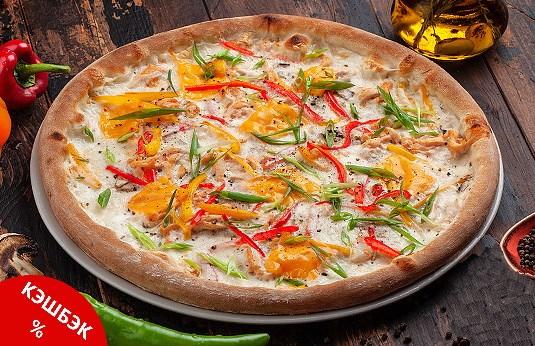 Заказать доставка Пицца Тай курятина по тайски Ирпень, Буча, Гостомель, Ворзель